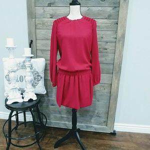 ISABEL MARANT Silk RED DRESS